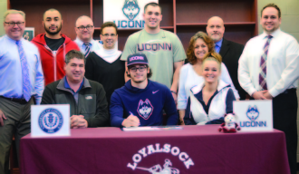 Webb Weekly Gem of the Week… Loyalsock's Hunter Webb Signs His Letter of Intent to Attend the University of Connecticut