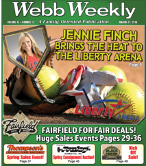 Former US Olympic Standout Softball Pitcher Jennie Finch To Conduct Clinic At Liberty Arena March 24