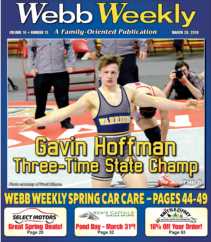 Hoffman Joins the Elite of Wrestling With His Third Consecutive PIAA State Championship