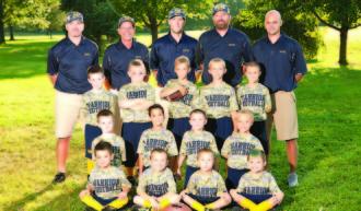 Montoursville Gold Flag Team League Co-Champions