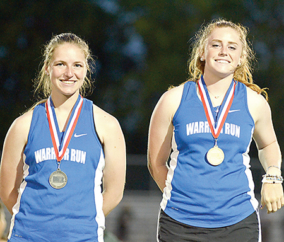 Warrior Run Duo Lives Up to Seeding on Way to PIAA Track and Field Championships