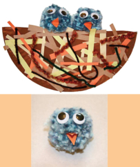 Kid's Corner: Paper Plate Bird Nest Craft