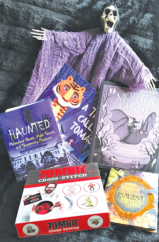 """The Bookworm Sez """"A Happy Halloween with Books That'll Make You Howl"""""""