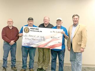 American Legion Donates to Harvest of Hope