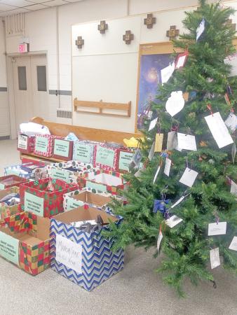The Giving Tree Courtesy of St. Ann Catholic Church