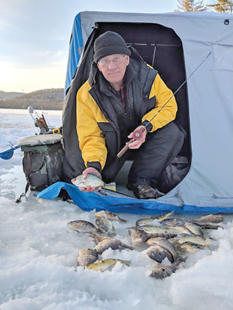 Ice Fishing is Not Over Yet