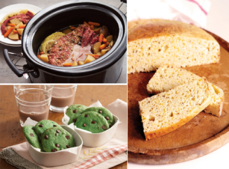 Throw a Shamrockin' St. Patrick's Day Party With Irish Classics and Green-Tinted Treats