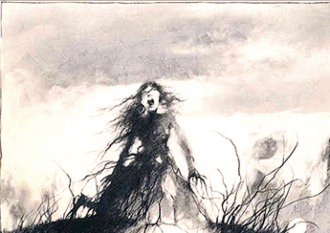 The Girl Who Stood on a Grave: From Scary Stories to Read in the Dark By Alvin Schwartz