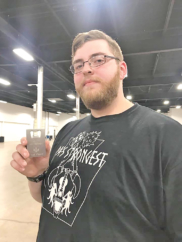 "Local Strongman Takes 2nd in ""PA's Strongest"" Teen Division"