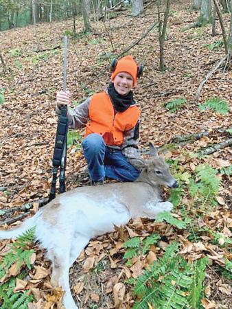 Piebald Deer?