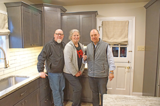 East End Couple Are Overwhelmingly Grateful Winners of the 2019 KISS FM Extreme Kitchen Makeover