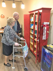 Jersey Shore FBLA Operates Shop At Nippenose Valley Village Senior Retirement Community To Teach Lessons of Operating A Business