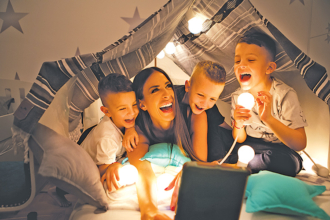 Create a Family-Friendly 'Staycation' Five ways to fill your home with happiness