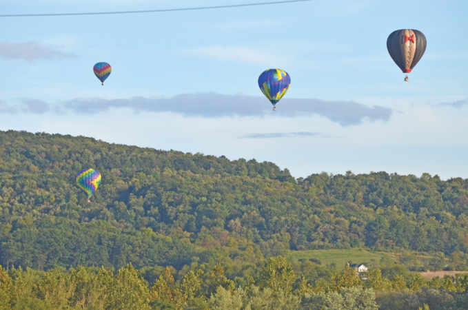 14th Balloonfest Air Show and So Much More To be Held September 12 and 13