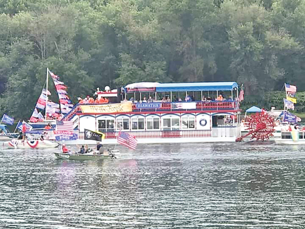 Boaters, Bikers, Bands, and Bombs Bursting in Air