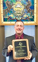 County Hall Corner: State Award to JPO Chief Ed Robbins