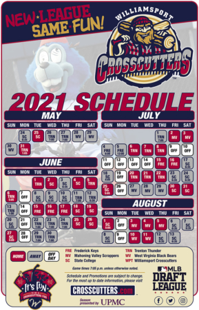 Crosscutters Unveil Schedule for Inaugural MLB Draft League Season