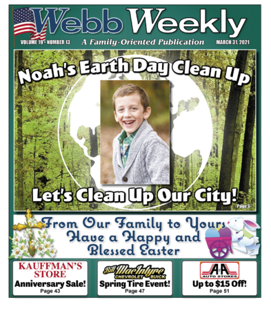 Noah's Earth Day Cleanup
