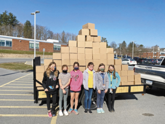 Jersey Shore Fourth Graders Ran Food Drive That Benefitted New Love Center