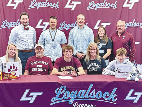 Loyalsock Township's Brady Dowell Signs Letter of Intent with Bloomsburg University