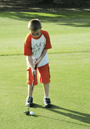 How to Get Kids Into Golf